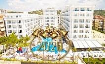 Нова Година в Дуръс, Албания! 3 нощувки със закуски и 2 вечери на човек в Grand Blue Fafa Resort 5* от АБВ Травелс