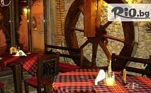 Нова година в Хисаря! 2 или 3 нощувки със закуски и Празнична вечеря с DJ в Ресторант-хотел Цезар