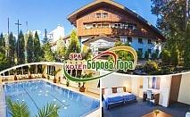 Нова година в хотел Борова гора до Пирдоп! 2 нощувки на човек, 2 закуски, обяд и 2 вечери, едната празнична + басейн и сауна