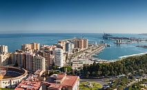 Нова Година в Малага! 7 нощувки в Малага - Хотел LAS PLAMERAS 4* със закуска, вечеря и напитки, трансфери, панорамна обиколка на Малага, директен чартърен полет и представител на място с български език  / Отпътуване на 27 Декември 2018 год.
