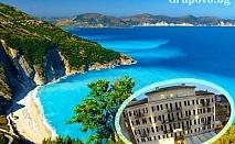 Октомври на метри от морето в Корфу, Гърция! Нощувка за двама или трима в хотел Konstantinoupolis