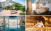 Пакети със закуски и вечери, процедури и масажи + ползване на СПА в Emerald Beach Resort & Spa, Равда