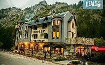 Планинска почивка и свеж полъх на гора в Замъка Хорлог 2*, Триград! Нощувка със закуска и приказна гледка, ползване на барбекю, безплатно за дете до 11.99 г.