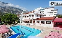 Почивка в Анталия, Турция! 7 нощувки на база All Inclusive в Larissa Mare Beach 4* + басейни, шезлонг, чадър и СПА, от Караджъ Турс