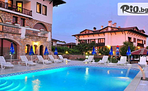 Почивка в Арбанаси през Август! Нощувка със закуска и вечеря + външен басейн, топъл релакс басейн и парна баня, от СПА комплекс Винпалас