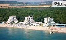 Почивка на брега на морето в к.к. Албена! Нощувка на база All Inclusive + басейн, чадър и шезлонг на плажа + Безплатно за дете до 12 год., от Хотел Нона