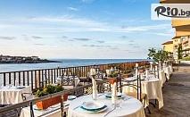 Почивка на брега на морето в Созопол през Юни! Нощувка със закуска и вечеря за до четирима, от Хотел Корал