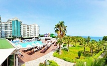 Почивка в Дидим, Турция! 5 нощувки на човек на база Ultra all Inclusive + 2 басейна от хотел Didim Beach Elegance. Дете до 12.99г. - БЕЗПЛАТНО
