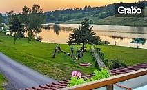 Почивка в Еленския Балкан - на брега на язовир Палици! Нощувка със закуска и вечеря, с бонус - възможност за риболов