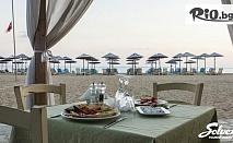 Почивка в Халкидики, Ситония през Юни и Юли! 7 нощувки със закуски и вечери в хотел Across Coral Blue + транспорт, от Солвекс