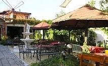 Почивка в Хисаря! Нощувка със закуска и вечеря само за 26.50 лв. в ресторант – хотел Цезар. Две деца до 10 г. - БЕЗПЛАТНО!
