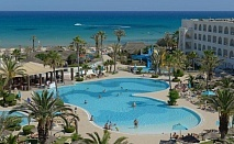 Почивка в хотел  VINCCI NOZHA BEACH & SPA 4*, Хамамет, Тунис през август и септември 2021. Чартърен полет от София + 7 нощувки на човек на база All Inclusive!