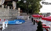 Почивка край Русе! 1 или 2 нощувки със закуски и вечери в спа апартамент с джакузи + външен басейн, от Къща за гости Севастопол