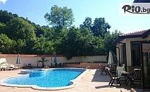 Почивка край Троян през Август! Нощувка със закуска и вечеря + Външен басейн с минерална вода, СПА и горещо минерално джакузи, от СПА хотел Шипково