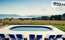 Почивка край язовир Батак до края на Октомври! Нощувка за ДВАМА в стая с хидромасажен душ или джакузи + сезонен отопляем басейн, от Вила Лидия, Цигов чарк