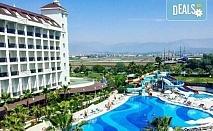 Почивка в Lake & River Side Hotel & Spa 5*, Сиде, през юни или юли! 7 нощувки на база Ultra All Inclusive, самолетен билет и летищни такси!