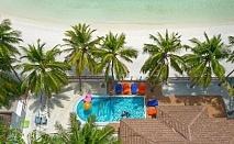 Почивка на Малдивите от септември до декември 2021. Чартърен полет от София + 6 нощувки на човек със закуски, обеди и вечери в Paradise Island Resort & Spa 5*!