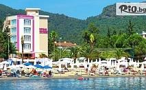 Почивка в Мармарис през Октомври! 7 нощувки на база All Inclusive в хотел Dora Beach 4*, от Енджой Травел