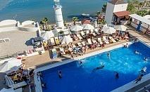 Почивка в MIDDLE TOWN BODRUM BEACH HOTEL 4*, Бодрум, Турция през август и септември 2021. Чартърен полет от София + 7 нощувки на човек на база All Inclusive! До 2 деца до 11,99 г. - БЕЗПЛАТНО