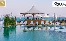 Почивка на първа линия на плажа в Несебър през ТОП сезон! 5, 7 или 10 нощувки на база Ultra All Inclusive + басейни, 2 шезлонга и чадър на плажа и басейна, от Хотел МПМ Арсена 4*