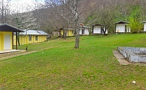 Почивка в полите на планина Беласица! Нощувка в бунгало за ДВАМА или ТРИМА от Бунгала Камена, с. Камена