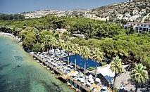 Почивка през август и септември в хотелски комплекс OMER HV - HOLIDAY VILLAG, Кушадасъ, Турция. Чартърен полет от София + 7 нощувки на човек на база All Inclusive!