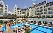 Почивка през август и септември в SIDE CROWN SERENITY HOTEL 5*, Сиде, Турция. Чартърен полет от София + 7 нощувки на човек на база All Inclusive!