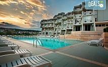 Почивка през лятото в хотел Панорама в Сандански! 1 нощувка със закуска или закуска и вечеря, ползване на външен басейн и безплатно настаняване на дете до 3.99г.