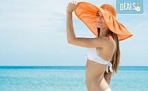 Почивка през лятото в Кавала на супер цена! 7 нощувки със закуски и вечери в Hotel Oceanis 3*, транспорт и трансфер до плажовете Амолофи, Неа Ираклица и Каламица