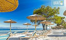 Почивка през октомври на остров Тасос + включен PCR тест! 4 нощувки със закуски и вечери в хотел 3*, транспорт и фериботни билети