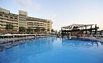 Почивка през юли и август  в AMELIA BEACH RESORT HOTEL & SPA 5*, Сиде, Турция. Чартърен полет от София + 7 нощувки на човек на база All Inclusive!