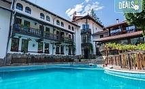 Почивка и релакс в семеен хотел Алфарезорт Термал 3* в село Чифлик! Нощувка със закуска и вечеря, ползване на външен топъл минерален басейн и релакс зона, безплатно за дете до 6.99 г.