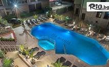 Почивка в Слънчев бряг през Юли и Август! Нощувка със закуска и възможност за вечеря + басейн, шезлонг и чадър, от Хотел Тиа Мария на 250 метра от плажа