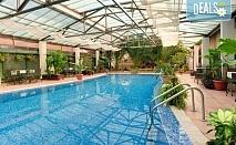 Почивка в слънчевия Петрич! 1 нощувка в SPA Hotel Bats 4*, ползване на минерален басейн, парна баня и сауна, безплатно за дете до 5.99г.