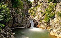 Почивка в Сливенския Балкан! Нощувка, закуска и вечеря само за 19.90 лв. в Еко селище Синия Вир, с. Медвен