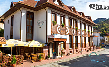 Почивка в Тетевенския Балкан! Нощувка със закуска, обяд и вечеря по избор + сауна, от Хотел Тетевен 3*