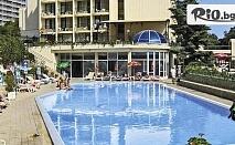 Почивка в Златни пясъци през Август и Септември! Нощувка със закуска и вечеря /по избор/ + басейни и СПА, от Хотел Шипка 4*