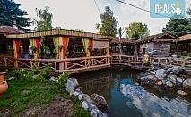 През есента на купон по сръбски! 1 нощувка със закуска и вечеря с музика на живо и неограничени напитки в комплекс Apostolovic в Лесковац, транспорт и посещение на Ниш и Пирот!