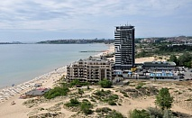 През лятото в хотел Бургас Бийч, на самия бряг на морето и пясъчните дюни в Слънчев Бряг за нощувка и Ол Инклузив,дете до 13 г. безплатно / 04.07.2021 г. - 24.08.2021 г./