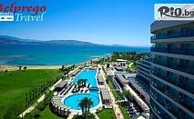През Май в Дидим, Турция! 7 нощувки на база All Inclusive в хотел VENOSA BEACH RESORT SPA 5*, от Белпрего Травел