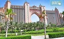 През септември до Дубай! 4 нощувки с 4 закуски и 4 вечери в хотел 3* или 4*, самолетен билет, посещение на Абу Даби и сафари в пустинята