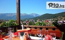 Прохладна лятна почивка в Калофер! Нощувка със закуска и вечеря, от Хотел Панорама 3*