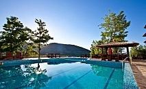 Пролетна почивка в Родопите. Нощувка, закуска и вечеря + СПА пакет, топъл басейн и спортна зала в Уелнес къща Планински Изглед, с. Ябълковец