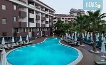 Ранни записвания за лято в хотел Primаsol Hane Family 4*, Сиде, Анталия! 7 нощувки на база All Inclusive, самолетен билет, летищни такси и трансфери