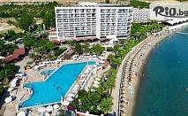 Ранни записвания за почивка в Кушадасъ! 7 нощувки на база All Inclusive в Tusan Beach Resort + транспорт, от Bulgarian Holidays