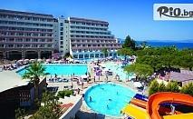 Ранни записвания за почивка в Кушадасъ! 7 нощувки на база All Inclusive plus в Batihan Beach Resort and Spa + транспорт, от Bulgarian Holidays