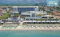 Ранни записвания за почивка през 2019 в Кушадасъ с Тансу Травел! 5 нощувки на база 24ч. All Inclusive в Hotel Palm Wings Beach Resort&Spa 5*, възможност за транспорт