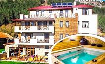 Релакс в Родопите. Нощувка, закуска и вечеря + сауна, парна баня и джакузи в Хотел Триград