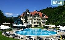 Релаксирайте в хотел Евъргрийн Палас 3*, Рибарица! 1 нощувка със закуска, обяд и вечеря, ползване на сауна и джакузи, безплатно за дете до 6г.!