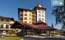 Релаксираща СПА почивка в Гранд Хотел Велинград 5*, Велинград! Нощувка със закуска и вечеря, ползване на зона за релакс и минерален басейн, безплатно за дете до 5.99 г.